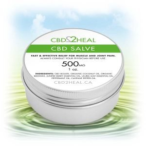 CBD2HEAL CBD Healing Salve Cream 500mg