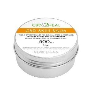 CBD Skin Balm Cream 500mg