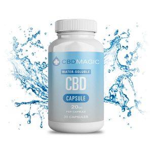Water Soluble CBD Gel Capsules Canada