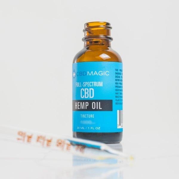 Full Spectrum CBD Hemp Oil Tincture 2000mg (30 ml Bottle)