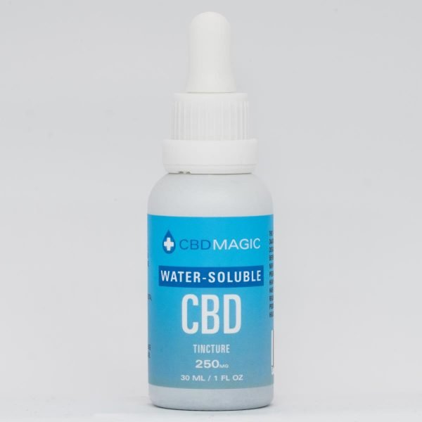 Water Soluble CBD Tincture 250mg (30 ml Bottle)
