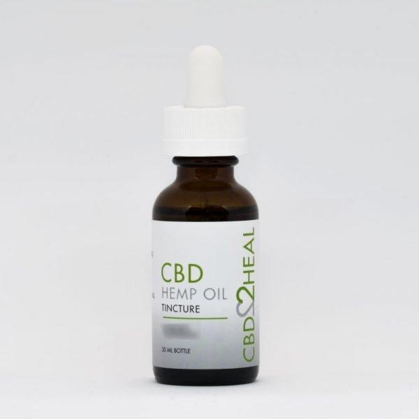 CBD2Heal CBD Hemp Oil Tincture 2000mg (30 ml Bottle)