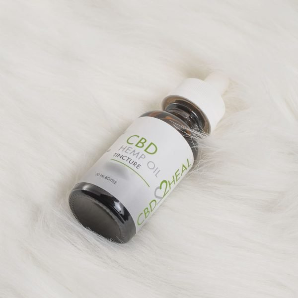 CBD2Heal CBD Hemp Oil Tincture 4000mg (30 ml Bottle)