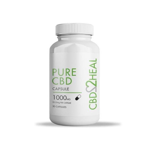 pure cbd capsule 1000mg