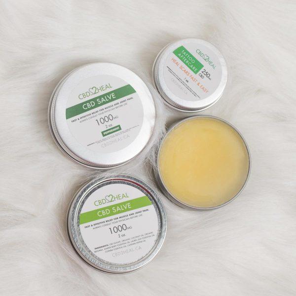 CBD2HEAL CBD Healing Salve Cream 2000mg
